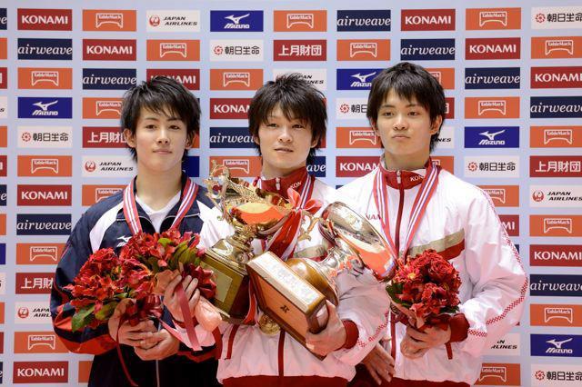 全日本個人男子入賞者