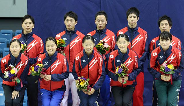 世界選手権日本代表
