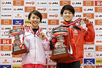 2018全日本体操個人、男子は谷川翔が初優勝、女子は村上茉愛が3連覇