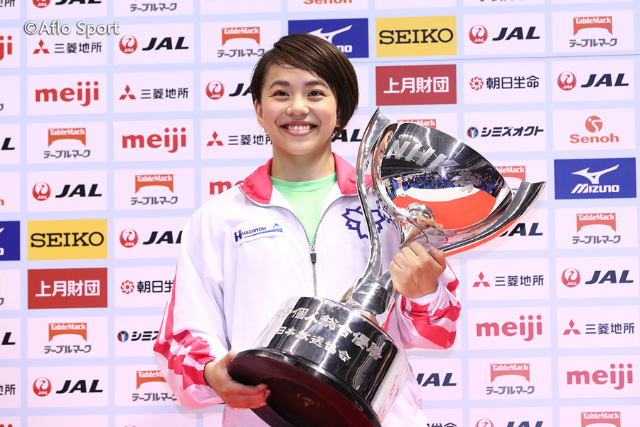 NHK杯女子、村上が優勝!世界選手権代表候補、アジア競技大会代表も決定