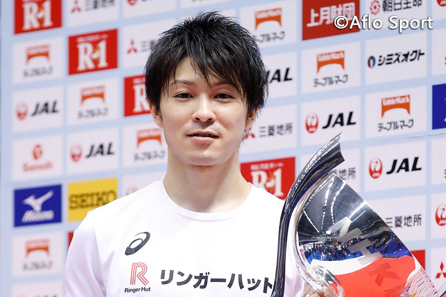NHK杯体操、内村航平が逆転で大会10連覇を達成