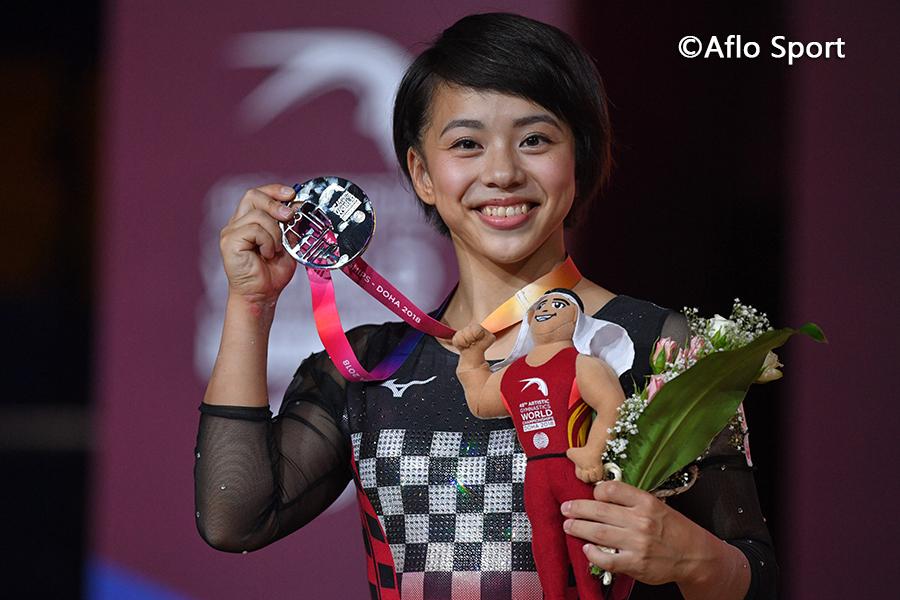 第48回世界体操女子個人総合決勝、村上が初の銀メダルを獲得!