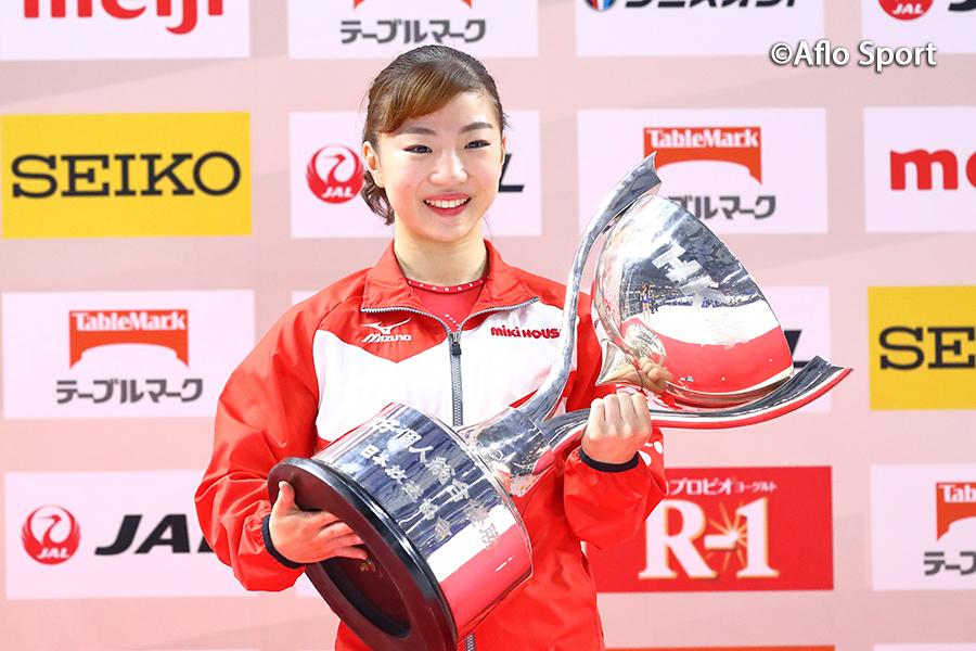 第58回NHK杯体操、女子は寺本が3年ぶり3度目の優勝