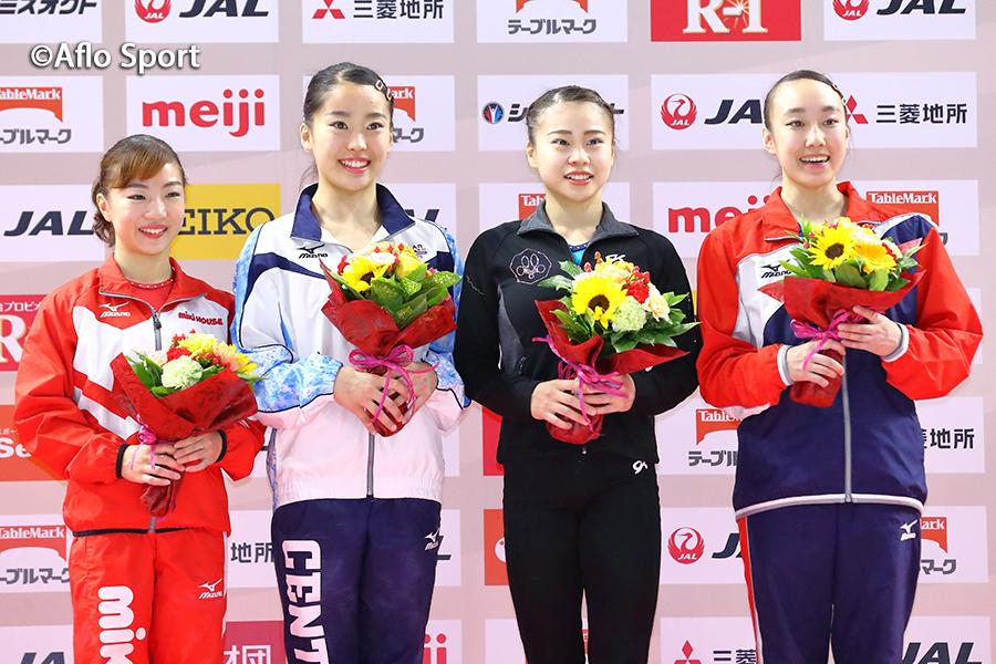 第58回NHK杯体操、2019世界体操選手権日本女子代表4名が決定