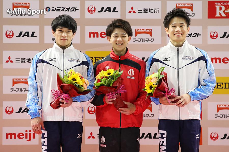 第58回NHK杯体操、男子世界選手権代表に谷川兄弟と萱が決定