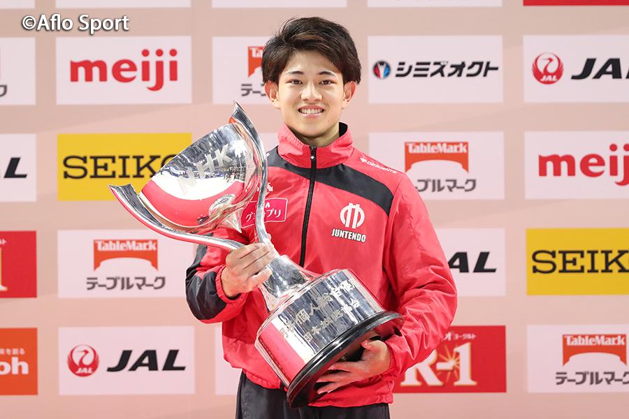 第58回NHK杯体操、谷川翔が初優勝、国内2冠達成