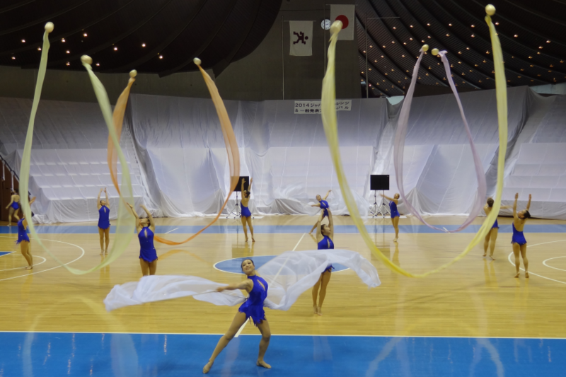 東京女子体育大学新体操競技部
