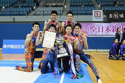 全日本選手権、男子団体は青森大学が4連覇