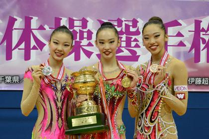 全日本選手権、女子個人総合は立澤選手が初優勝