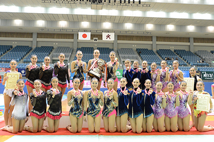 全日本選手権、女子団体優勝は日女体大