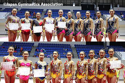 アジア・アジアジュニア新体操選手権日本代表が決定