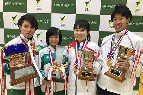 全日本タンブリング・ダブルミニ競技で男女とも連覇