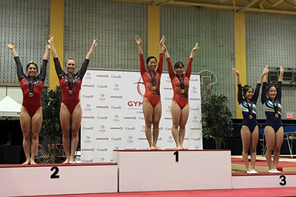 岸・土井畑・宇山が2018 カナダカップでメダル獲得!