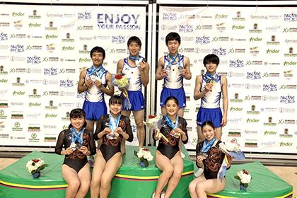 2018 環太平洋選手権 男女とも団体で金メダル
