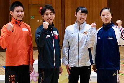 第33回世界選手権・第18回アジア競技大会 日本代表