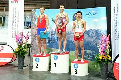 WC2018 スイス大会 岸大貴 男子個人競技銅メダル!