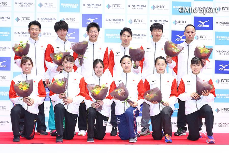 第34回世界トランポリン最終選考会、男子は岸、女子は森が1位、男女代表6名ずつが決定